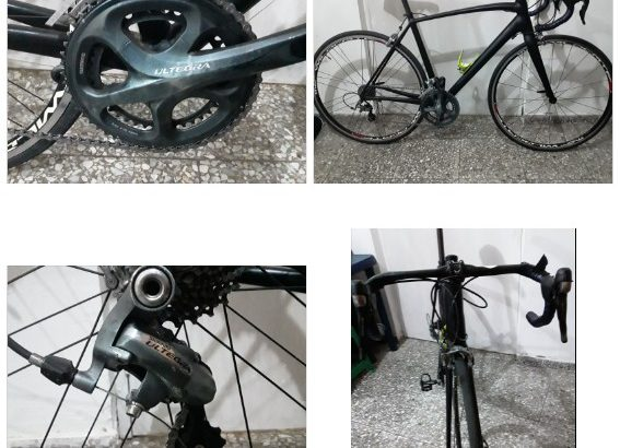 Bicicleta de ruta 100 % operativa
