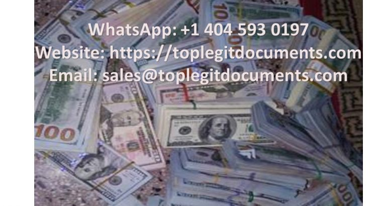 Buy Real passports, IDS | Whatsapp: +1 404 593 0197