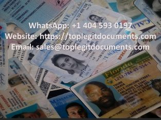Buy Real/Fake driver's License | Whatsapp: +1 404 593 0197